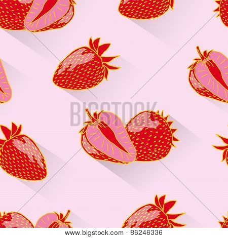 Strawberry seamless