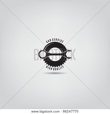 Vector Template Of Car Service Logo