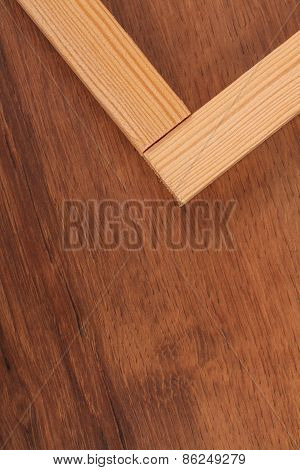 The Wooden  Batten Square Scantling On The Wood