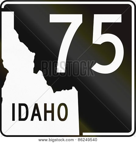 United States State Highway Idaho