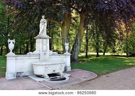 Monument In Schloss Sans Souci