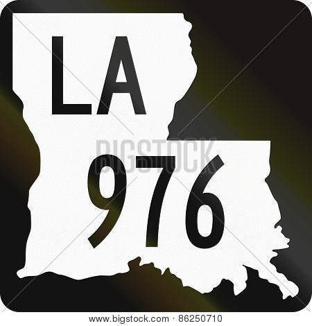 United States State Highway Louisiana