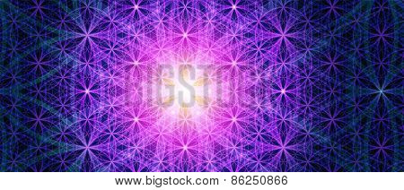 The Flower Of Life Background