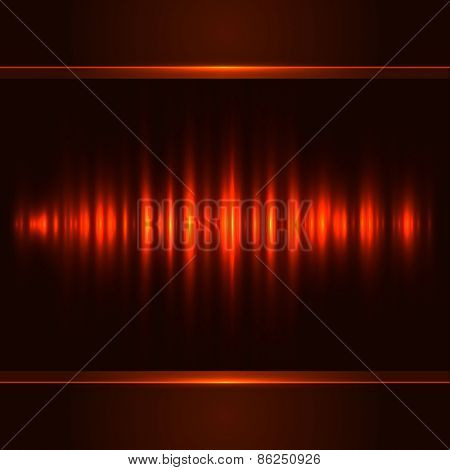 Red vertical light vector background.