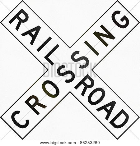 Us Railroad Crossing