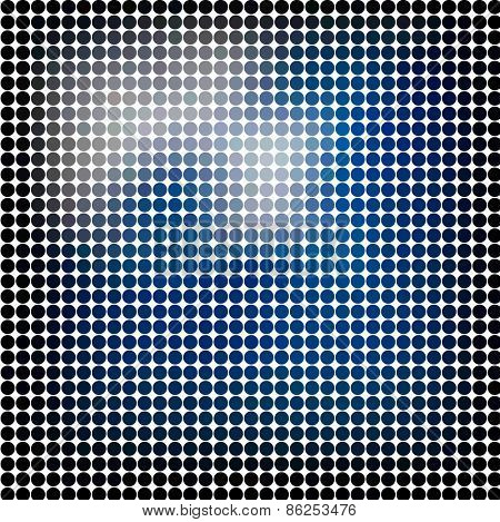 Dots abstract vector background