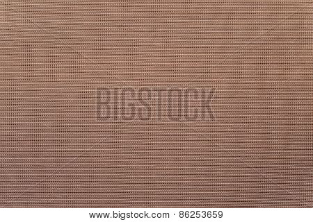 Textile Intertwining Texture Of Brown Color