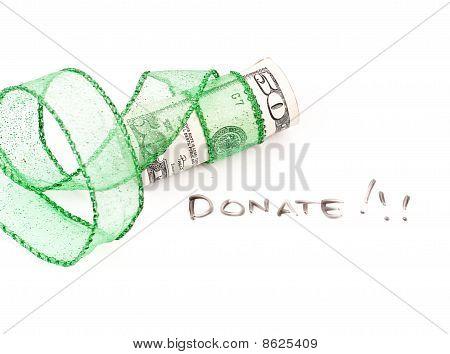 Conceito de doação