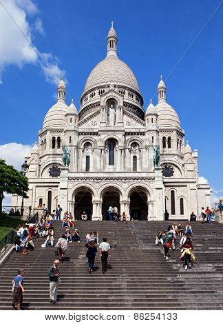 Sacre Coeur, Paris.