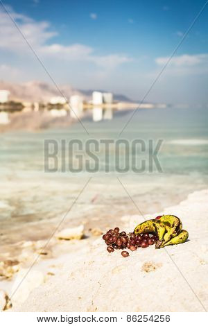Fruit Bananas And Grapes