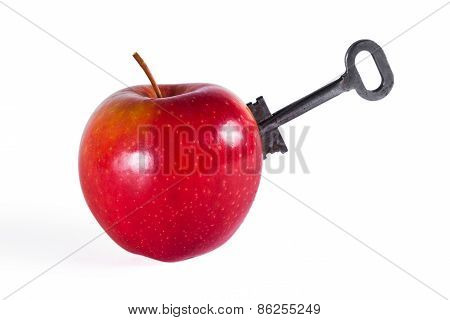 Apple With Key