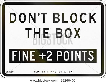 Dont Block The Box