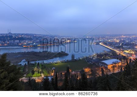View Of Istanbul From The Lookout