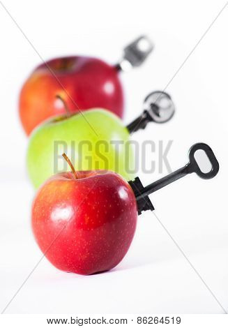Apples With Keys