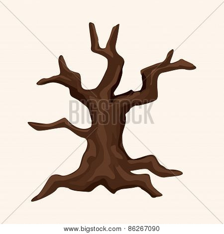 Halloween Tree Theme Elements