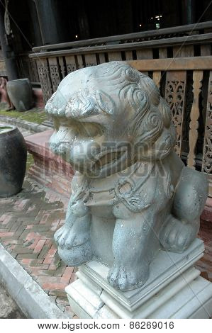 Chinese Imperial Lion, Also Called Guardian Lion