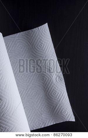 White Kitchen Roll Paper