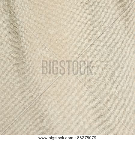 White towel cloth texture