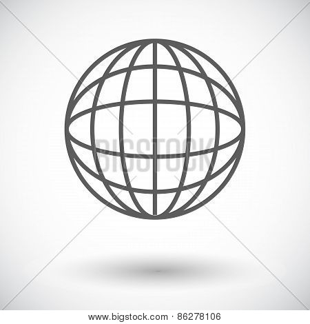 Simple World globe 2