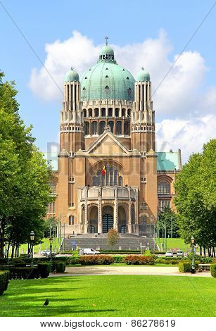 Basilica Of The Sacred Heart In Brussels