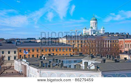 Helsinki. Finland. Helsinki view