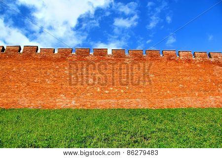 Novgorod Kremlin In Russia