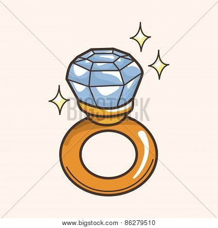 Diamond Ring Theme Elements
