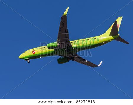 Boeing 737-800, Sibir S7 Airlines