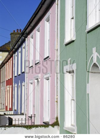 Colured Housefronts