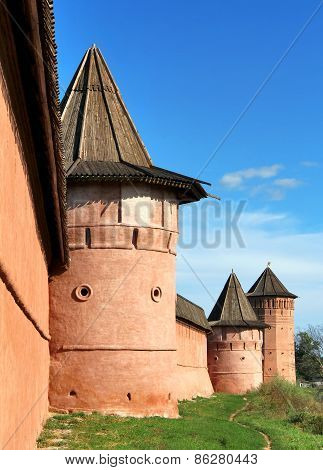 Monastery of Saint Euthymius in Suzdal