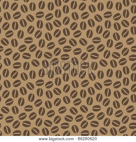 Coffee Beans Seamless Pattern