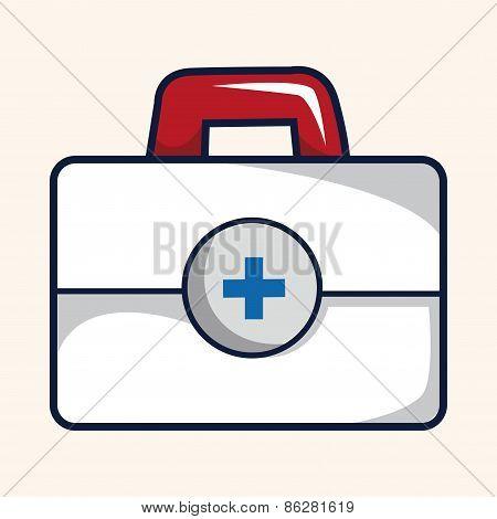 Medicine Box Theme Elements