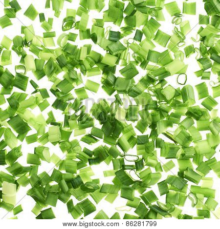 Green onion pieces