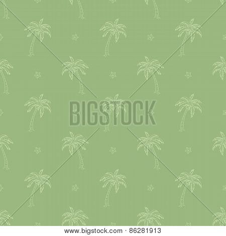 palm trees pattern