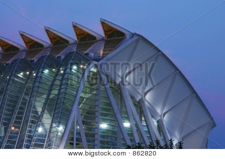 city of the arts and sciences , museum 4