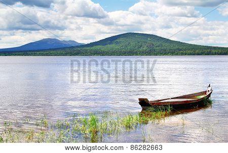 Mountainous Lake
