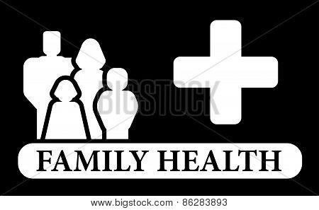 black family health icon