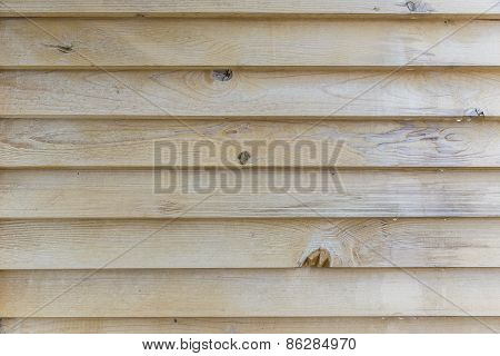 Wooden Partition Between Balconies