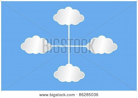 White Clouds Infographic