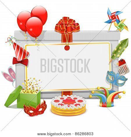 Vector Celebration Board