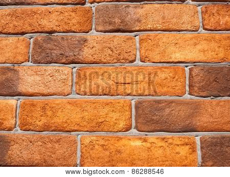 Wall Of The Old Brick