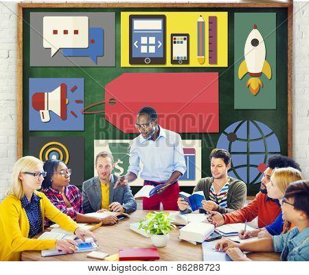 Branding Brainstorming Marketing Teamwork Concept