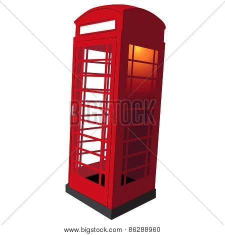 An image of a classic UK red telephone box.