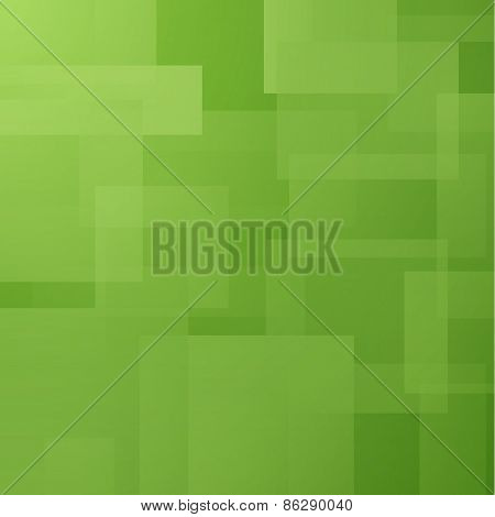 Abstract vector background with transparent rectangle