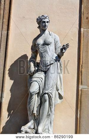 Monument Standing Goddess