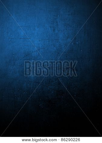 Blue Coloured Plaster Wall