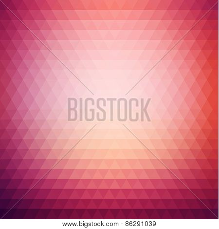 Colorful geometric background - raster version
