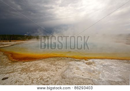 Steam And Storm  Clouds In The Wilderness