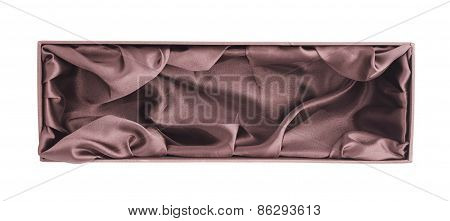 Tall gift box isolated