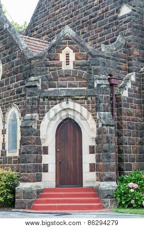 Entrance To The New St. Georges Anglican Church In Knysna